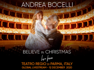 Andrea Bocelli Believe in Christmas
