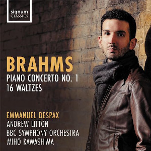 Brahms: Piano Concerto No. 1 and 16 Waltzes